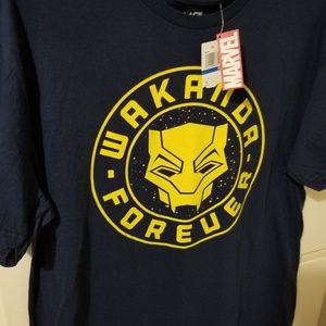 Marvel Comics T-shirt Black panther...new. Wakanda